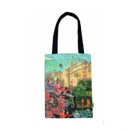 Eco Corner Indian Art Palace Cotton Bag