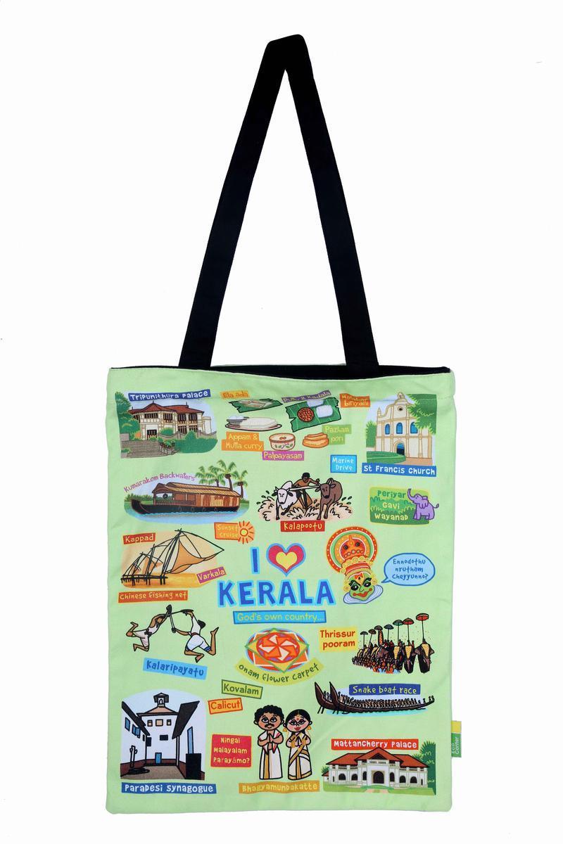 Coloured Kerala Sling Bag