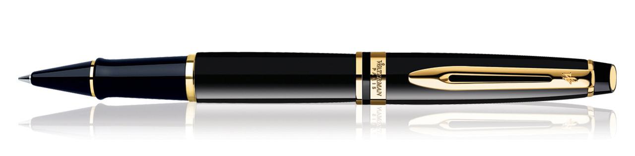 Waterman Expert Black GT Roller Ball Pen