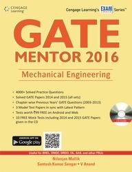 MECHANICAL ENGINEERING GATE MENTOR 2016 W/CD