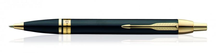 Parker Odyssey Laq Bk Gt Ball Pen