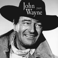 2009 John Wayne Wall Calendar