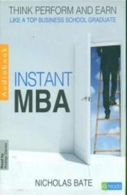 Instant MBA (Audio Book)