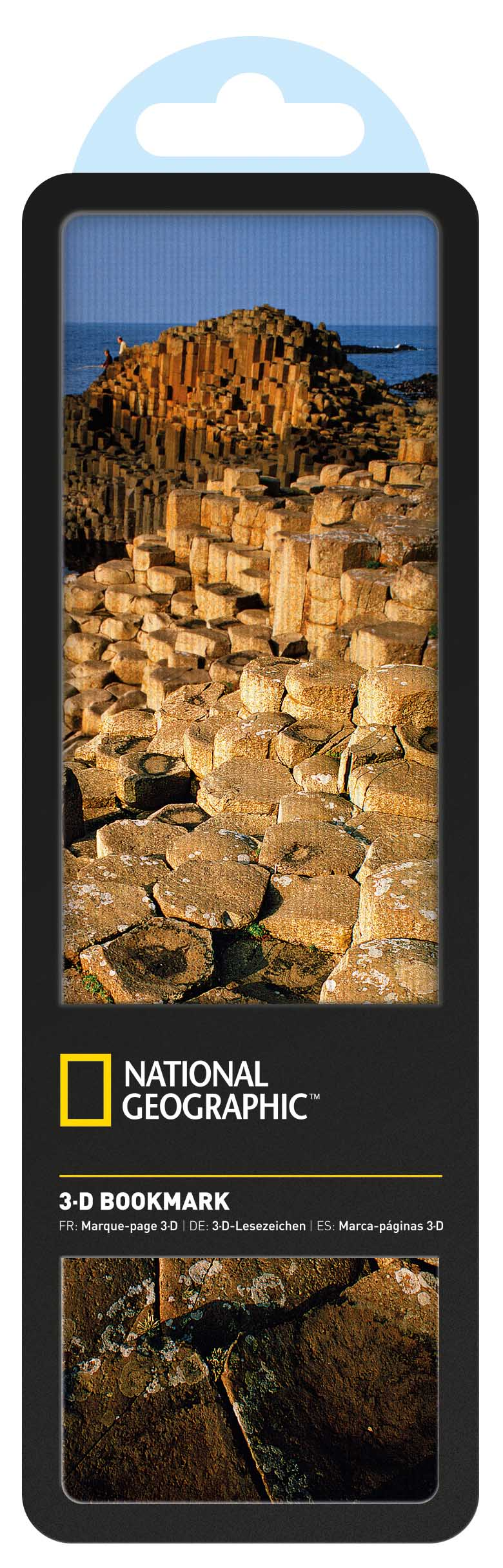 National Geographic 3-D Bookmark-Giants Causeway