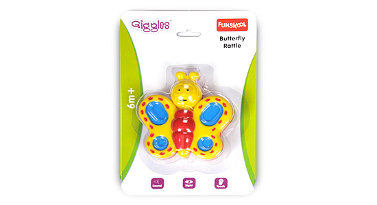 Funskool Butterfly Rattle