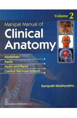 Manipal Manual Of Clinical Anatomy Vol.2 (In Four Color)