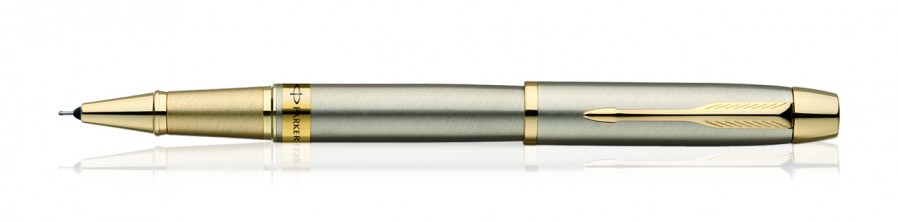 Parker Odyssey Brushed Metal Gt Roller Ball Pen
