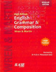 High School English Grammar & Composition Wren &   Martin : Large Format