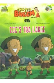 CHHOTA BHEEM IN EGGS TRA LARGE VOL 89