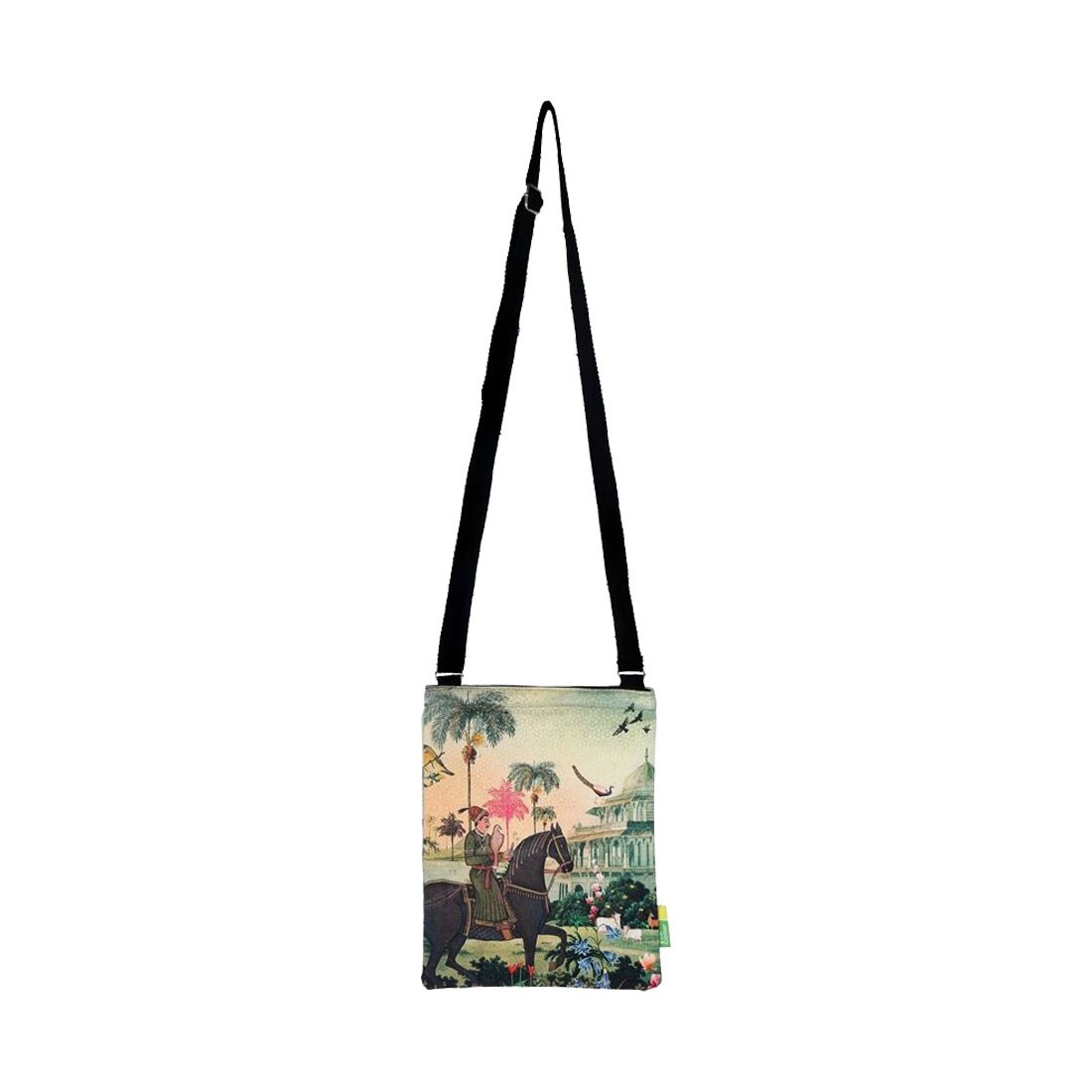 Eco Corner Small Indian Art Horse Sling Bag