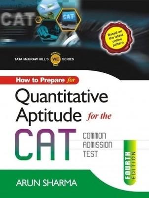 How to Prepare for Quantitative Aptitude for the CAT Common Admission Test 4th Edition price comparison at Flipkart, Amazon, Crossword, Uread, Bookadda, Landmark, Homeshop18