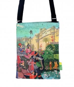 Eco Corner Small Indian Art Palace Sling Bag