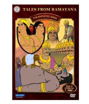 Tales from Ramayana-4 DVD Pack