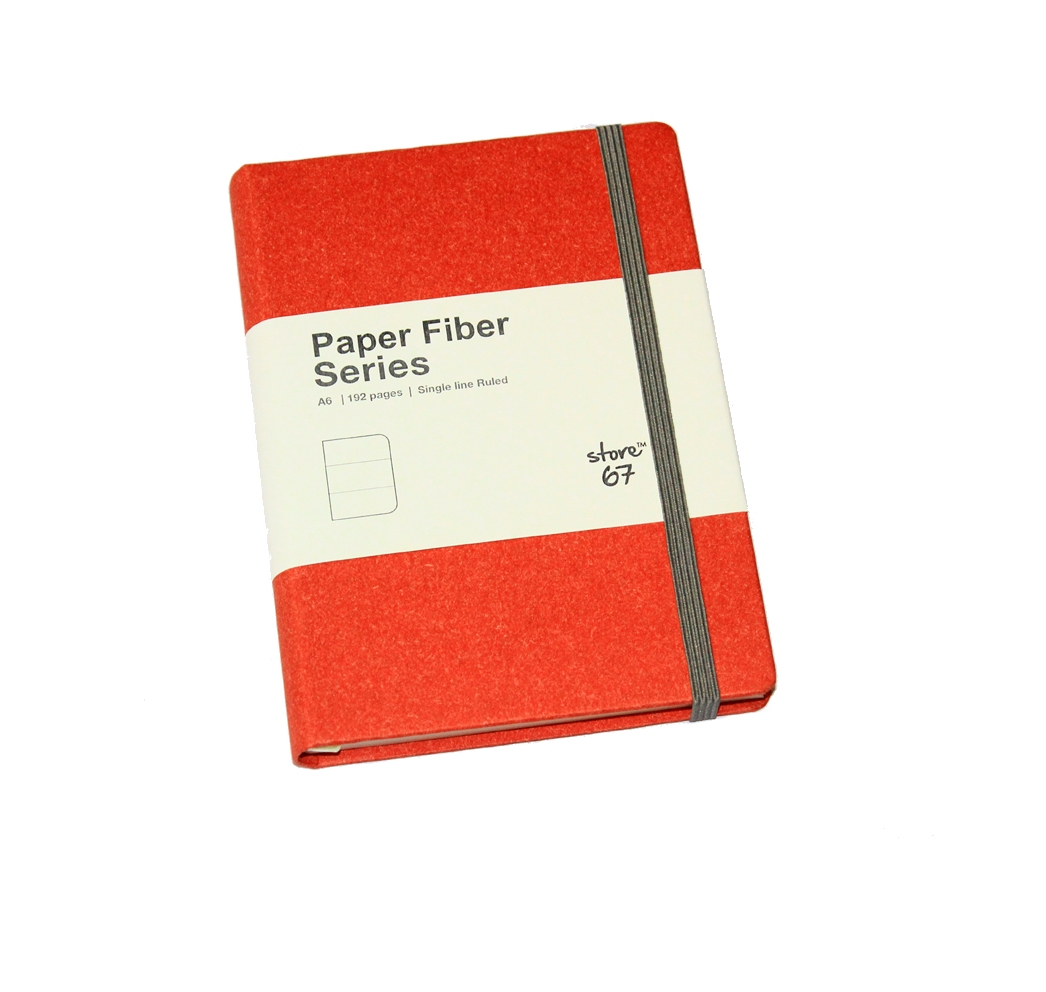 Store67 Paper Fibre Series A6 (Red)