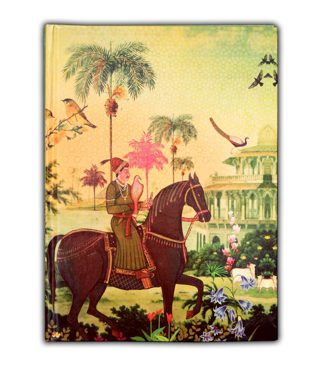 Small Indian Art Horse Exercise Book