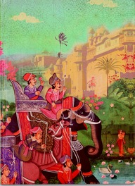 Small Indian Art Palace Exercise Book