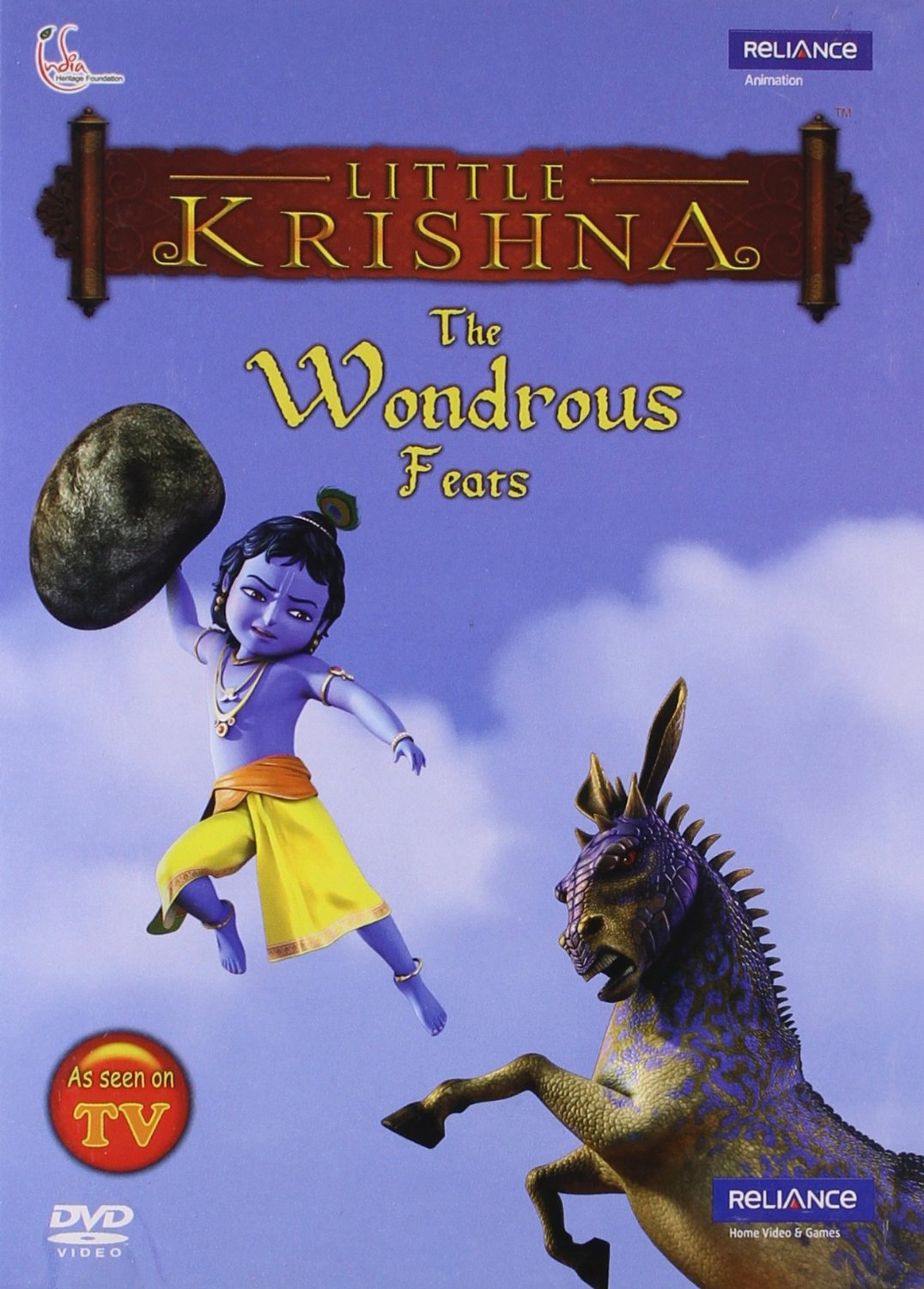 Little Krishna-The Wondrous Feats