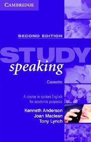 Study Speaking Cassette - A Course in Spoken English for Academic Purposes Rev ed Edition price comparison at Flipkart, Amazon, Crossword, Uread, Bookadda, Landmark, Homeshop18