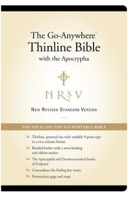 Go-Anywhere Thinline Bible-NRSV-Thinline with Apocrypha