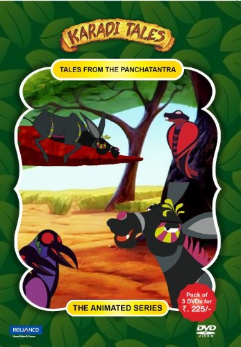 Karadi Tales-Tales form the Panchatantra-3 DVD Pack