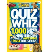 National Geographic Kids Quiz Whiz: 1,000 Super Fun, Mind-Bending, Totally Awesome Trivia Questions price comparison at Flipkart, Amazon, Crossword, Uread, Bookadda, Landmark, Homeshop18