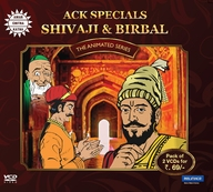 Tales of Shivaji and Birbal-2 VCD Pack