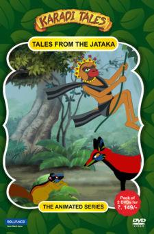 Karadi Tales-Tales form the Jataka-2 DVD Pack