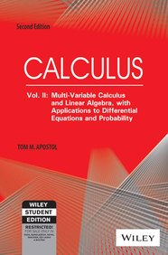 Calculus Vol 2: Multi Variable Calculus & Linear   Algebra With Applications To Differential