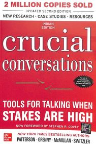Crucial Conversations: Tools For Talking When Stakes Are High 2nd Edition price comparison at Flipkart, Amazon, Crossword, Uread, Bookadda, Landmark, Homeshop18