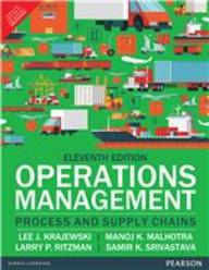 Operations Management Processes & Supply Chains