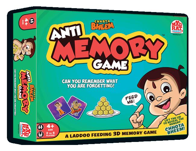 Chhota Bheem - Anti Memory Game