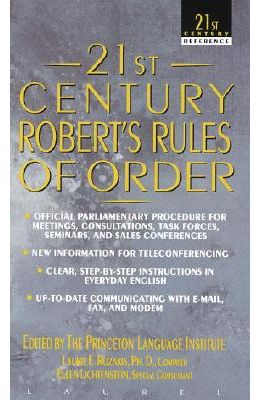 21st Century Roberts Rules Of Order