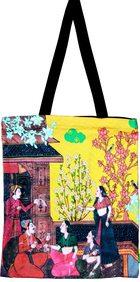 Eco Corner Small Indian Art Balcony Cotton Bag