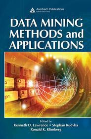 Data Mining Methods & Applications
