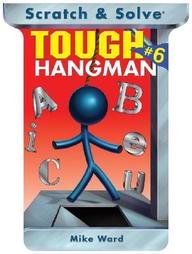 Scratch & Solve Tough Hangman #6, Vol. 6
