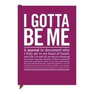 Knock Knock I Gotta Be Me Journal