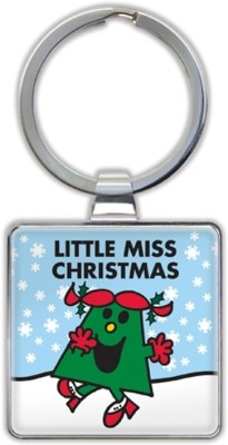 Little Miss Christmas Keyrings