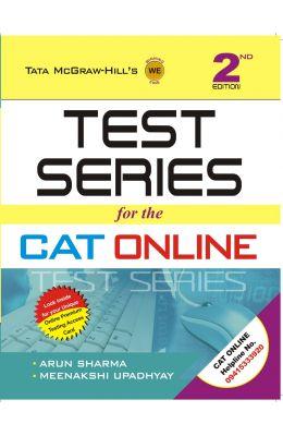 Test Series for the CAT Online 2nd  Edition price comparison at Flipkart, Amazon, Crossword, Uread, Bookadda, Landmark, Homeshop18