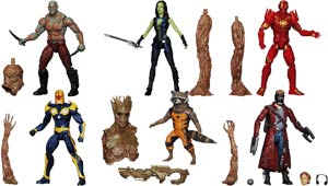 "Guardians of the Galaxy Marvel Platinum 6"" Legends Assorted"