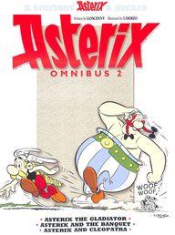 ASTERIX OMNIBUS BOOKS 4 5 and 6