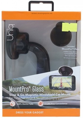 Uniq MountPro Glass - Black