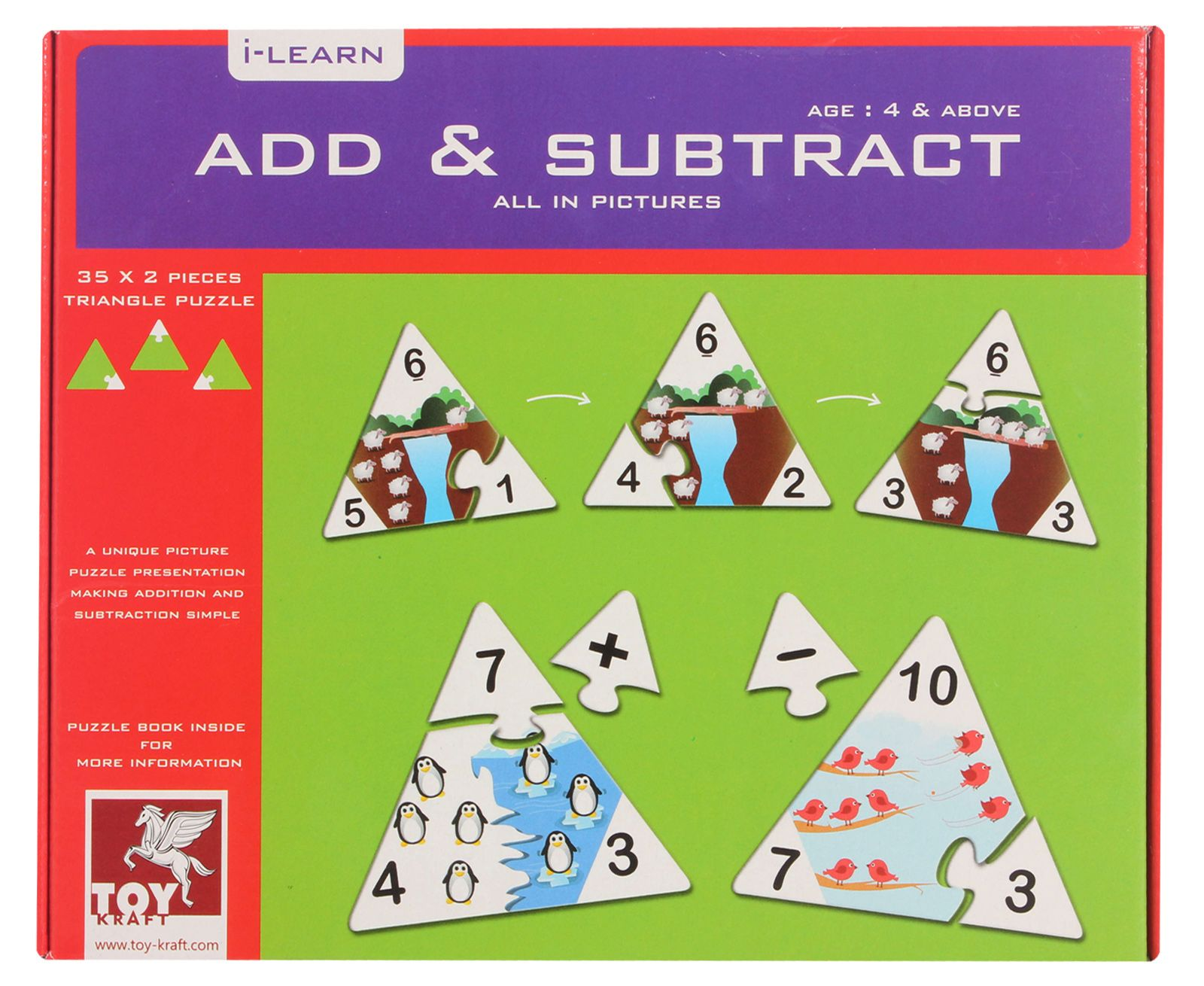 Toy Kraft Add and Subtract