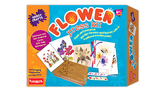 Funskool Flower Press Kit