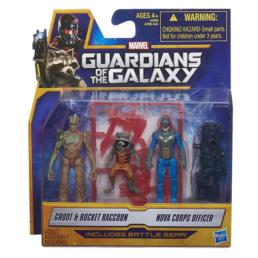 Guardians of the Galaxy Battle Gear Figure 2 Pack