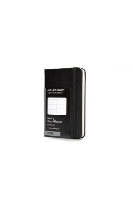 Moleskine Extra Small Horizontal Weekly Planner: Black