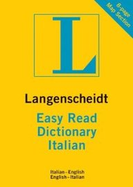 Easy Read Dictionary Italian