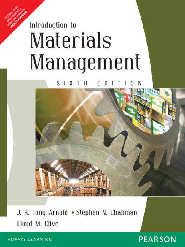 Introduction To Materials Management 6th Edition price comparison at Flipkart, Amazon, Crossword, Uread, Bookadda, Landmark, Homeshop18