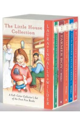 LITTLE HOUSE COLLECTION SET OF 5 BOOKS