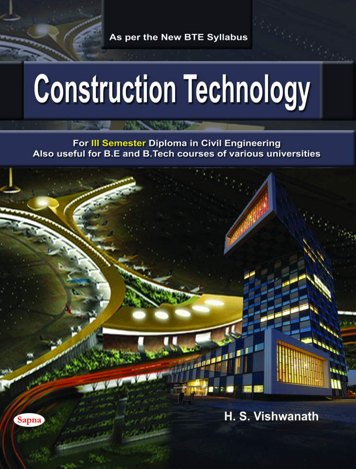 construction technology for 3 sem diploma in civil