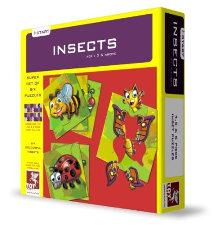 Toy Kraft Super Set Of Six - Insects